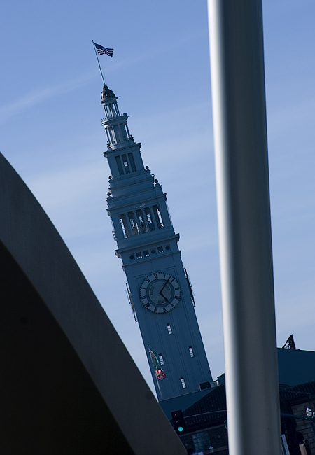 The Ferry Building, San Francisco, CA. Seth Rosenblatt (c) 2007.
