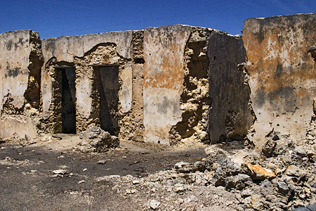 Remains of the Kangaroo Inn, Furner, South Australia. Seth Rosenblatt (c) 2005.